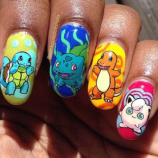 '90s-Inspired Nail Art That Will Make You Totally No