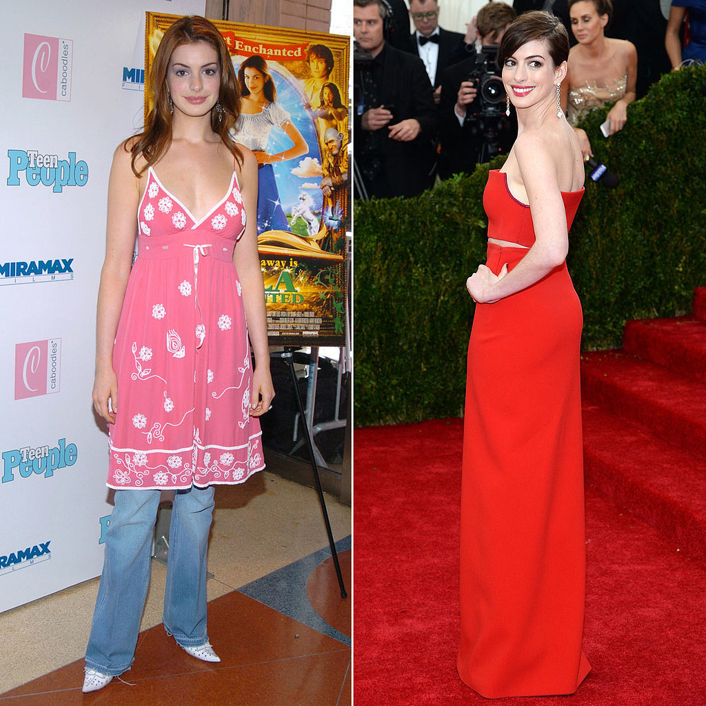 Anne Hathaway Outfits: Anne Hathaway Red Carpet Evolution