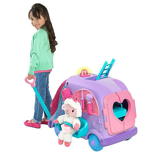 For 3-Year-Olds: Disney Jr. Doc McStuffins Get Better Talking Mobile Cart
