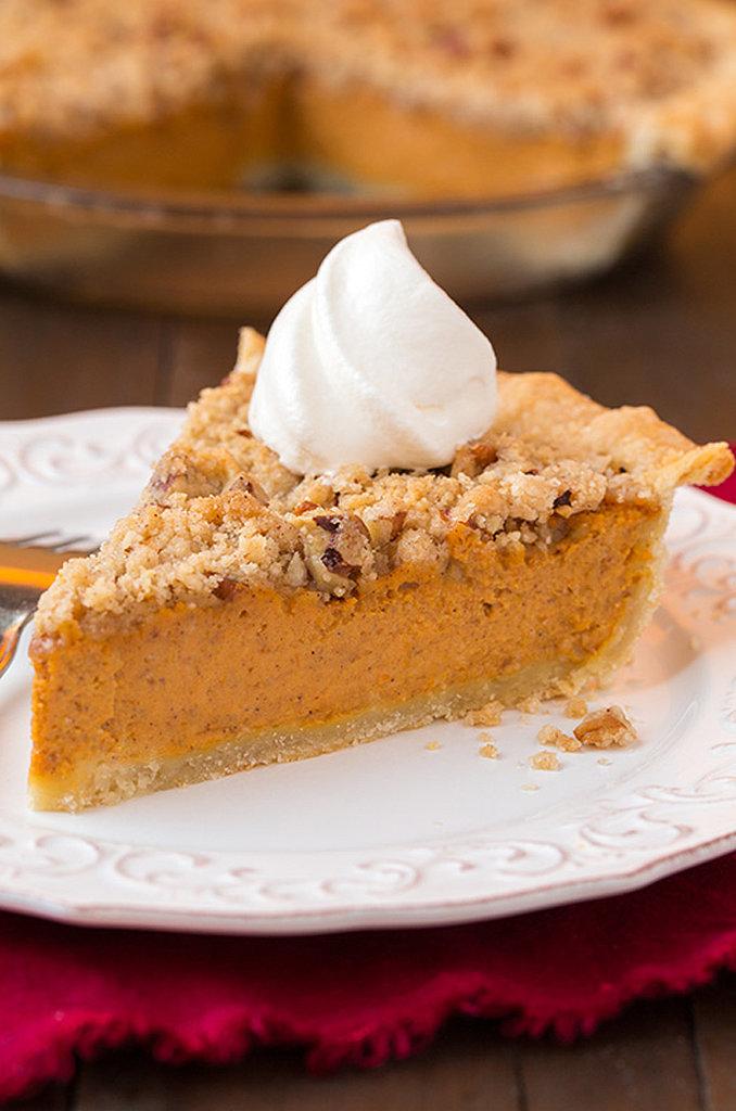 Streusel-Topped Pumpkin Pie