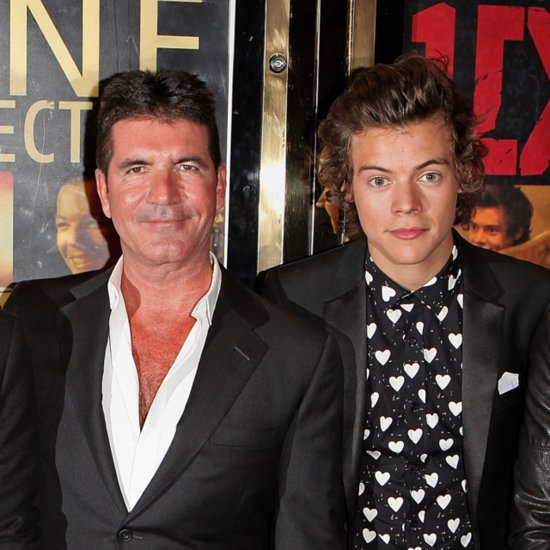 Simon Cowell's Son Drumming to One Direction | Video