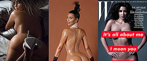 All the Times Kim Kardashian Has Gotten Naked For the Public