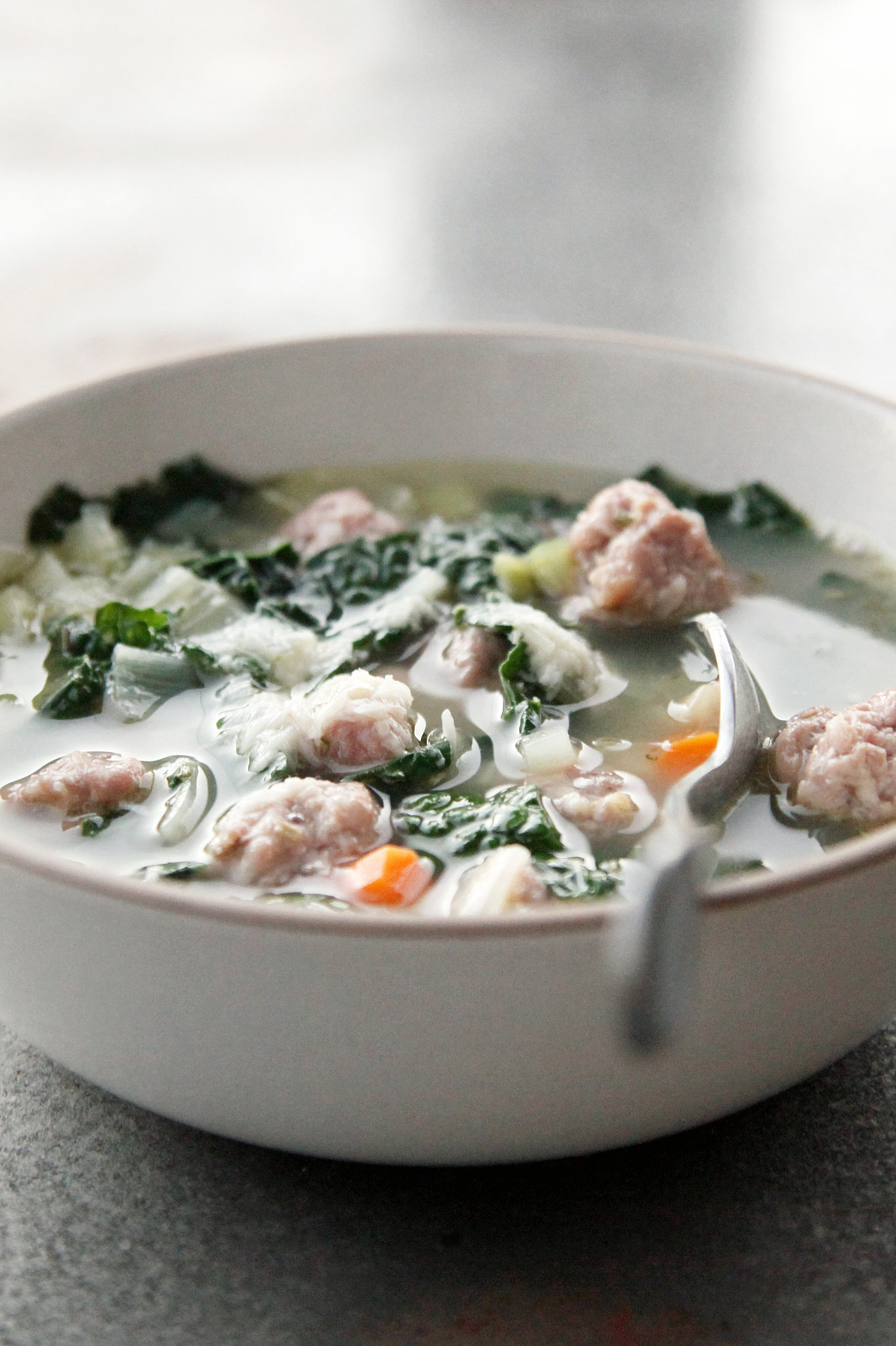 soup that won't disappoint, try this kale, bean, and sausage soup ...