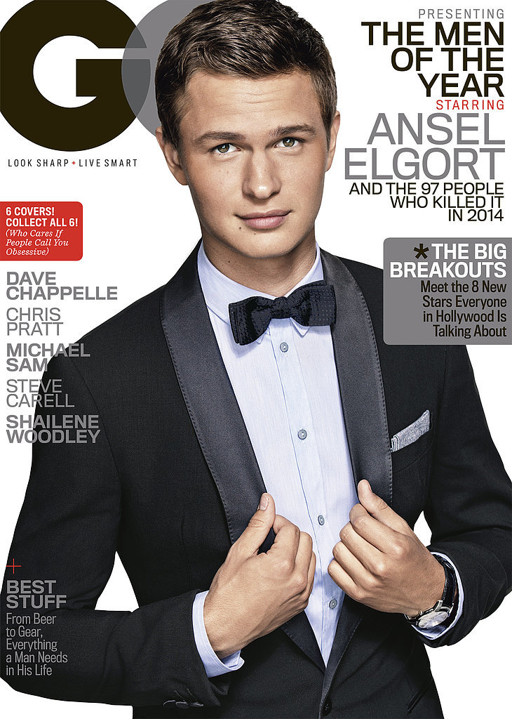 Ansel Elgort's GQ Men Of The Year Cover