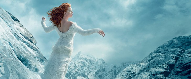 Amy Adams's Vogue Shoot Feels Like a Whimsical Winter Dream