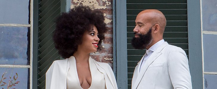Solange Knowles's Red Lip Is One of the Best Bridal Beauty Looks of 2014