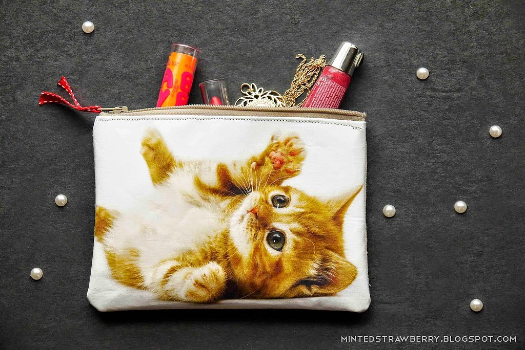 Cat Photo Pouch
