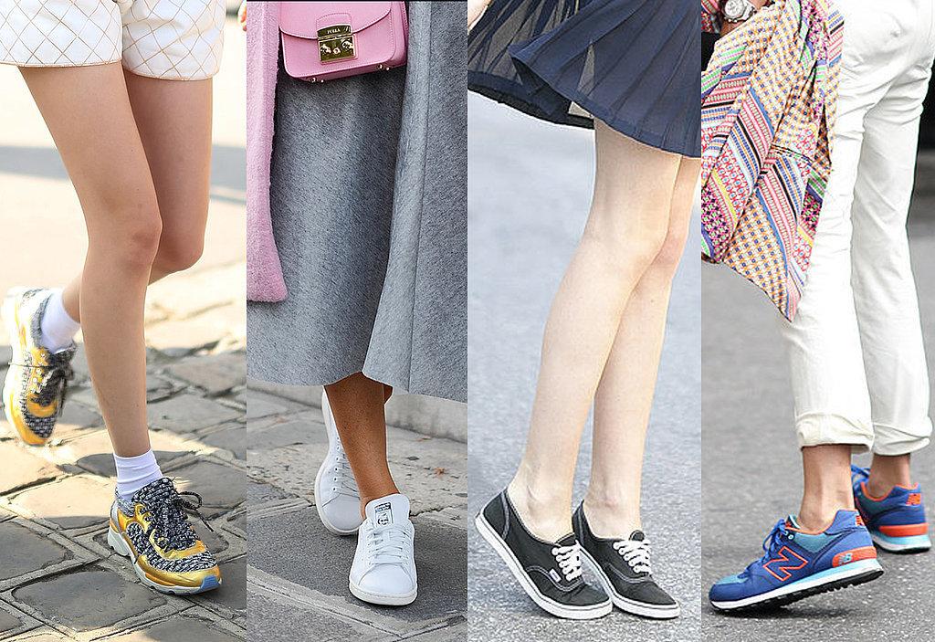 Best Sneaker Street Style 2014 Popsugar Fashion