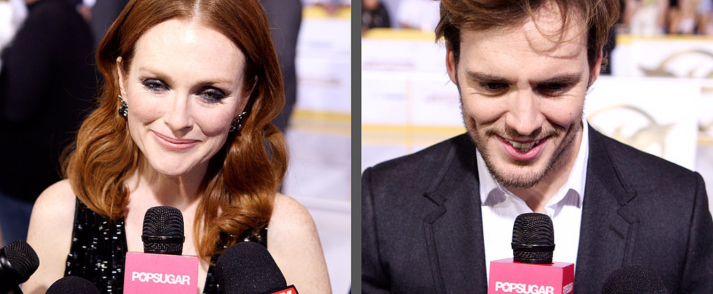 Sam Claflin Talking About Jennifer Lawrence Is the Cutest Thing You'll See All Day