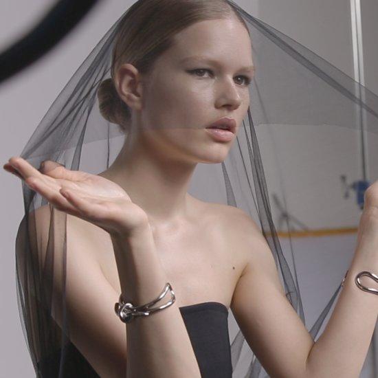B Balenciaga Fragrance Campaign Anna Ewers