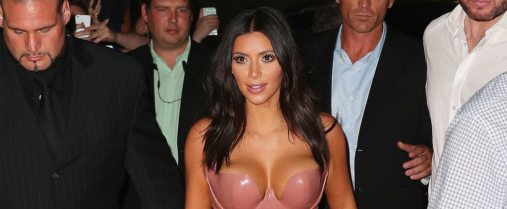 Kim Kardashian Might #BreaktheInternet With This Dress, Too