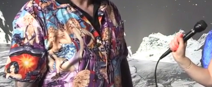 Comet-Landing Scientist Slammed Over Sexist Shirt