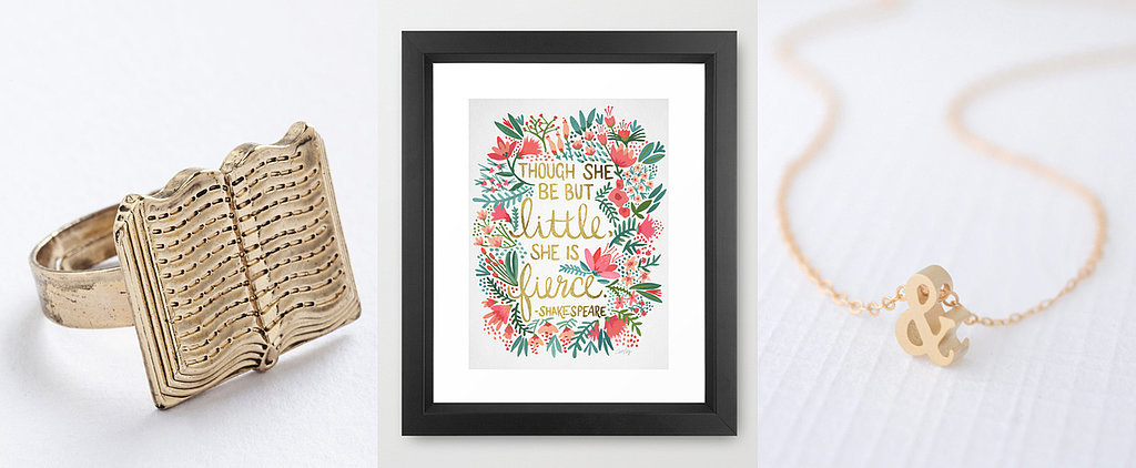 31 Book-Themed Gifts For the Literature-Lover in Your Life