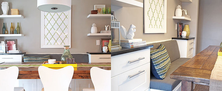 Build Your Own Banquette — With Ikea Cabinets!