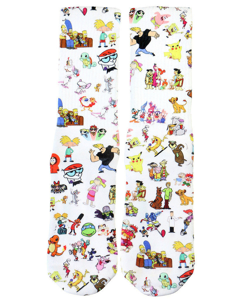 '90s Cartoon Socks