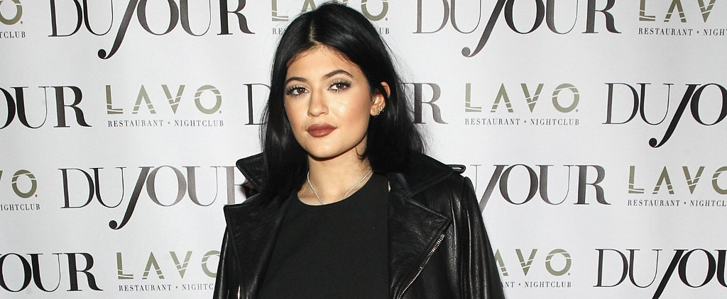 Kylie Jenner Doesn't Care What You Say About Her Puffy Pout