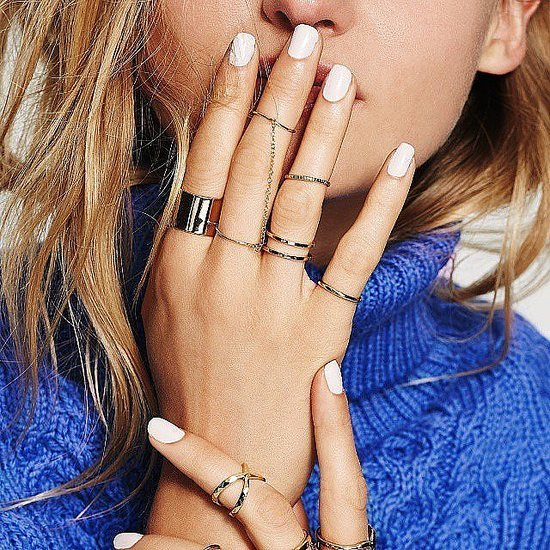 13 Real-Girl Ways to Style Your Rings Like a Pro