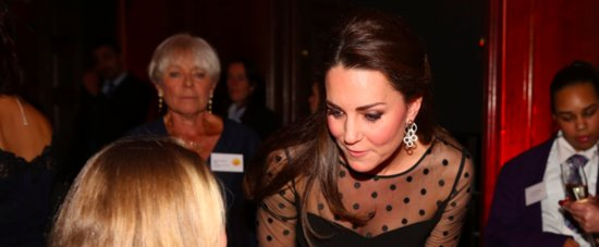 Kate Middleton's Growing Baby Bump Is on Display at Her Charitable Event