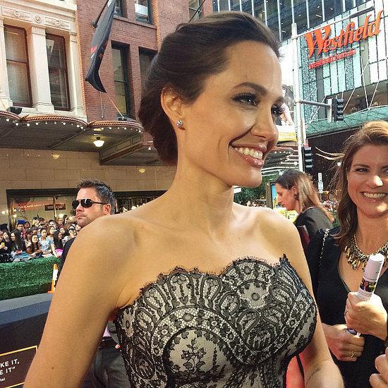 POPSUGAR Australia Instagram: Angelina Jolie Pictures