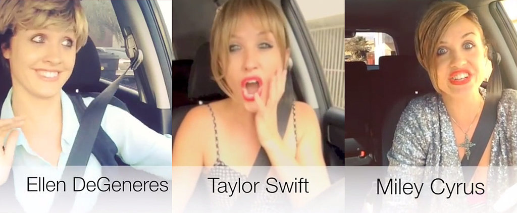Watch This Woman Do 14 Amazing Impressions of Celebrities in Traffic