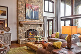 Houzz Tour: Roughing Up a Fancy Mountain Home (22 photos)