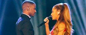 Ariana Grande and Big Sean Share Super Sexy Kisses