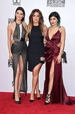Kardashians Wear Pretty Scraps of Fabric to the AMAs
