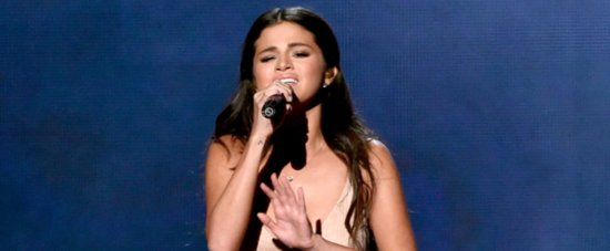 "Watch Selena Gomez's Tear-Filled AMAs Performance of ""The Heart Wants What It Wants"""