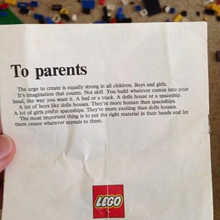Lego Instructions From the 1970s
