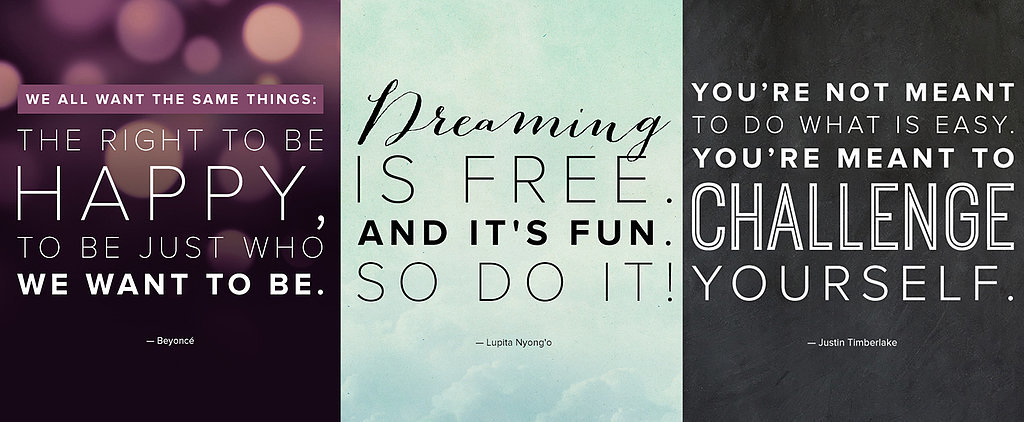 The Most Pinterest-Worthy Celebrity Quotes of 2014