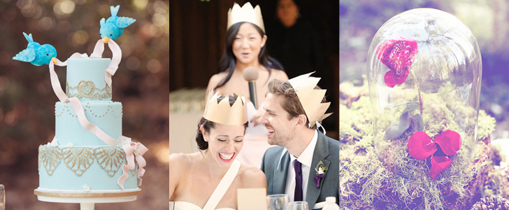 How to Throw a Fairy-Tale Wedding Fit For a Princess