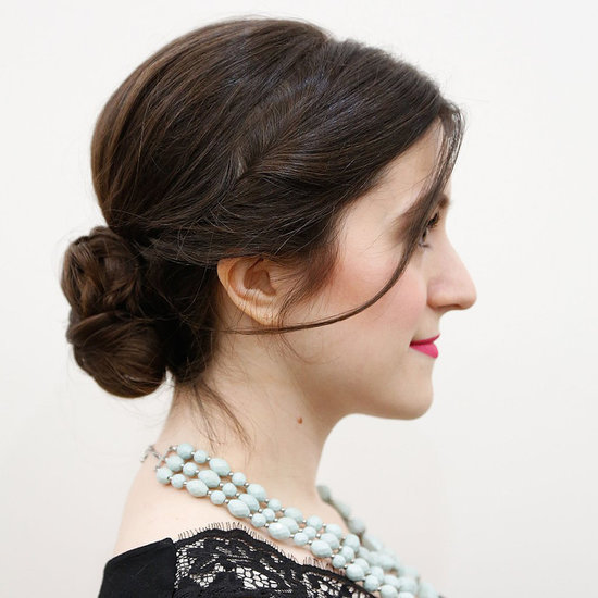 Date-Night Updo Hair How-To