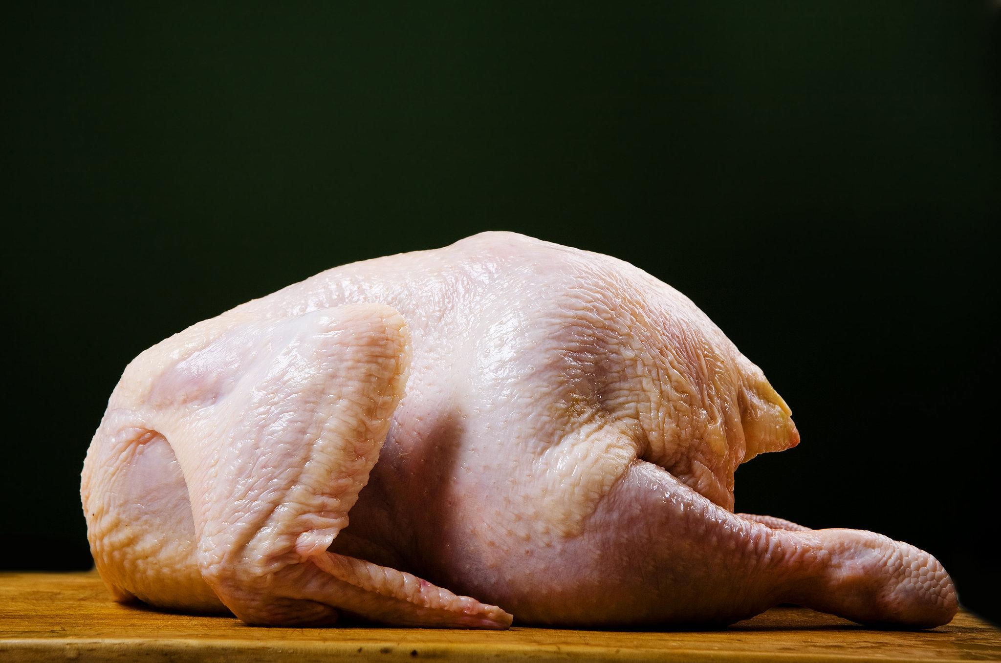 turkey defrost breast a