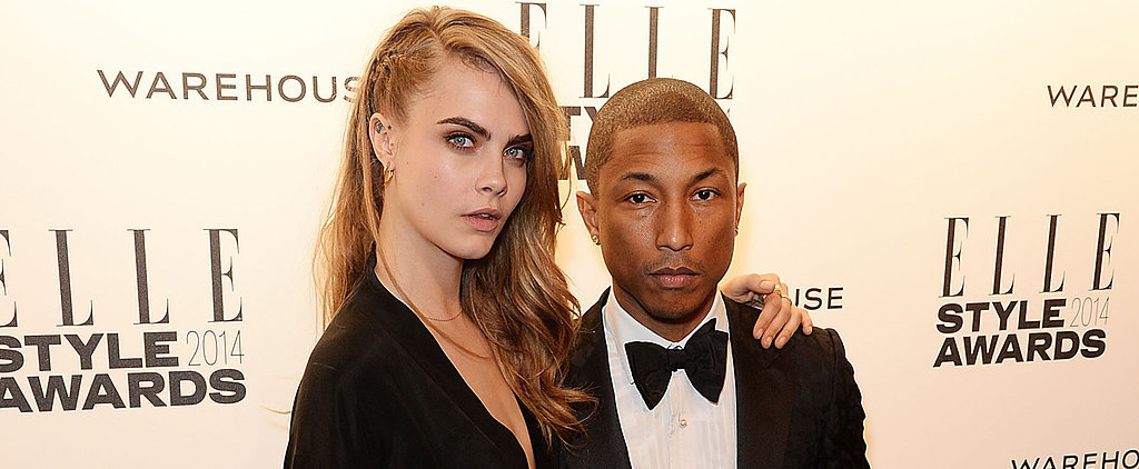 Cara Delevingne and Pharrell Williams Wore Chanel to Cinderella's Ball