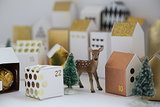 Make Your Own Mini Advent Village (22 photos)