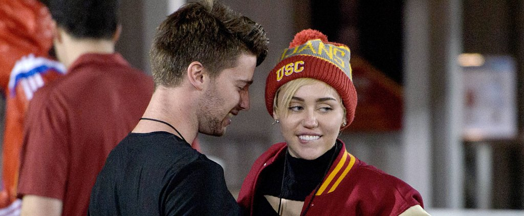 Miley Cyrus and Patrick Schwarzenegger Show Serious PDA