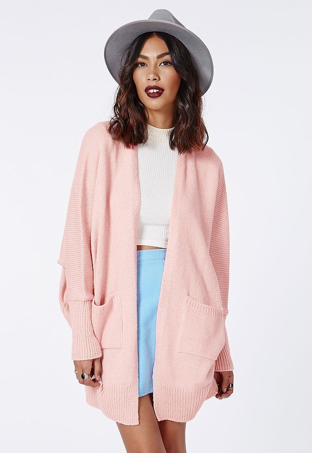 Missguided Valene Oversize Batwing Slouch Cardigan
