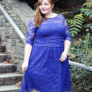 Katha von kathastrophal.de zeigt uns ihr festliches Plus-Size-Partyoutfit