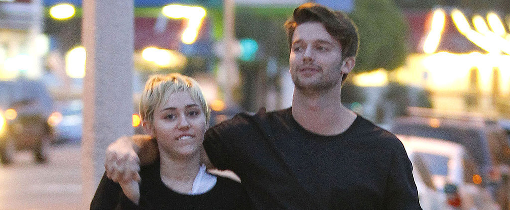 Miley Cyrus and Patrick Schwarzenegger Can't Keep Their Hands Off Each Other