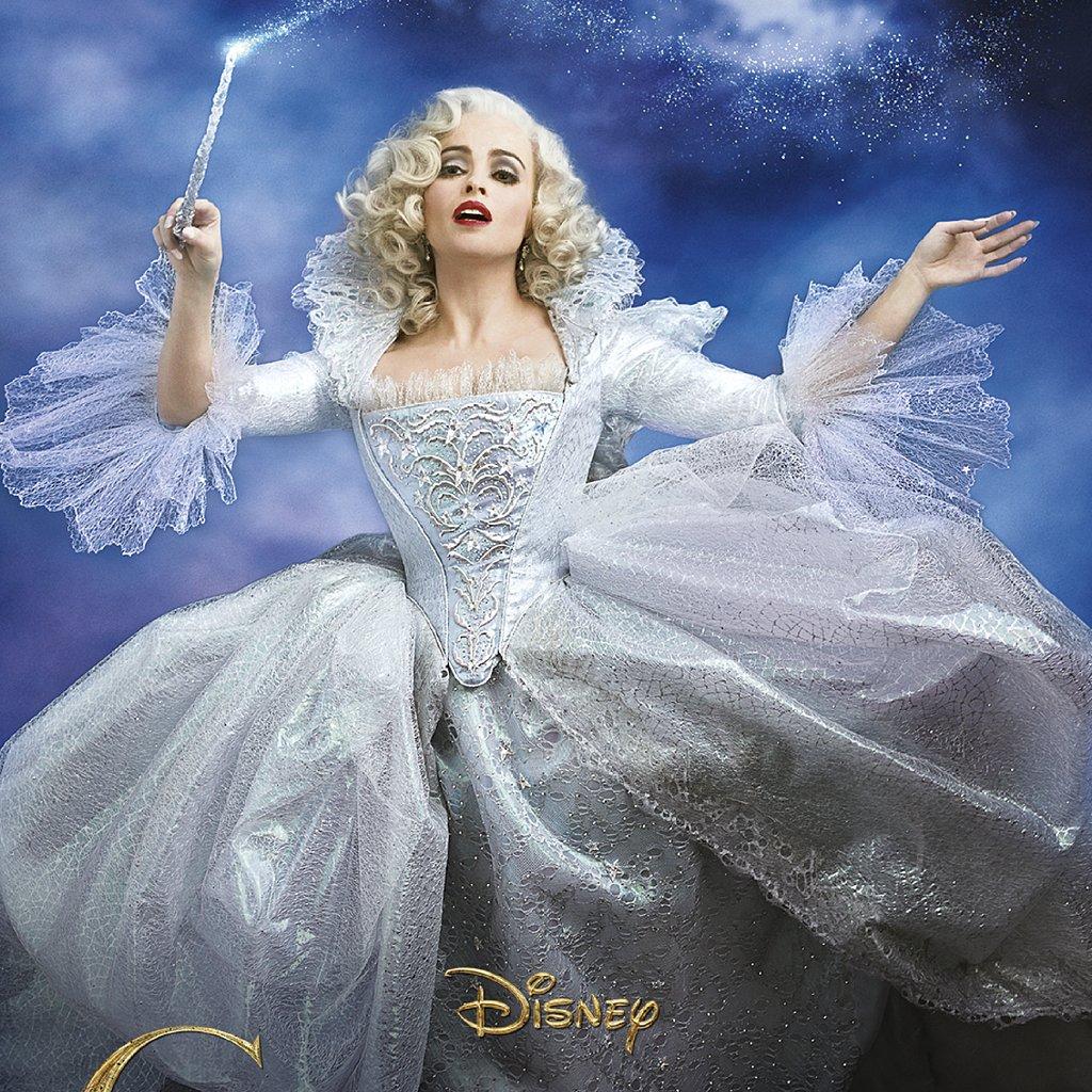 helena bonham carter as cinderella 39 s fairy godmother. Black Bedroom Furniture Sets. Home Design Ideas