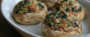 Healthy Holiday Hors d'oeuvre: Vegan-Friendly Stuffed Mushrooms
