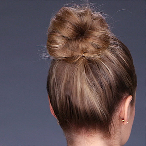 Thick Bun For Shoulder-Length Hair | Video