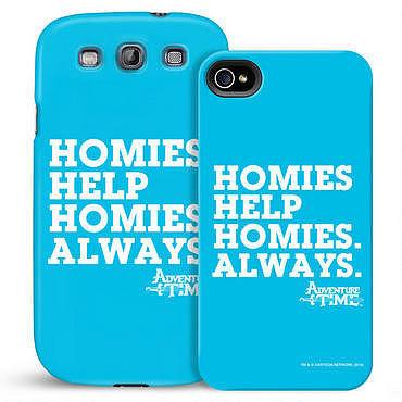 Homies Help Homies Phone Case