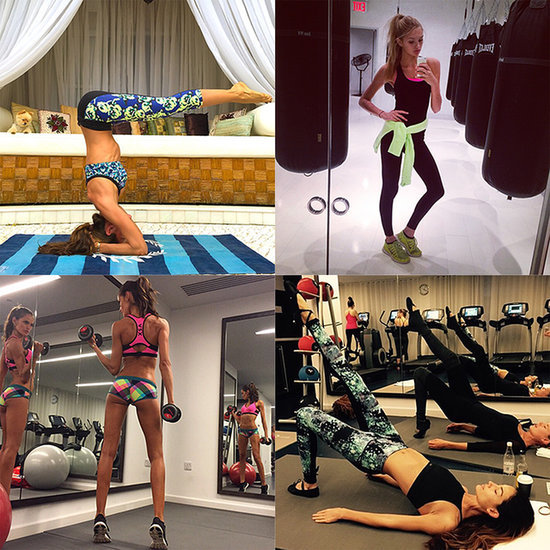 The Victoria's Secret Angels Pre-Show Workouts