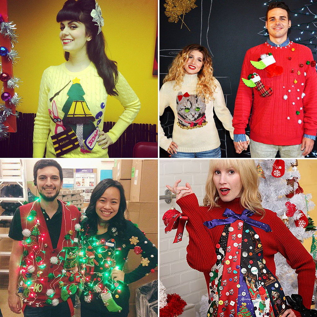 Ugly Christmas Sweater DIYs | POPSUGAR Australia Smart Living