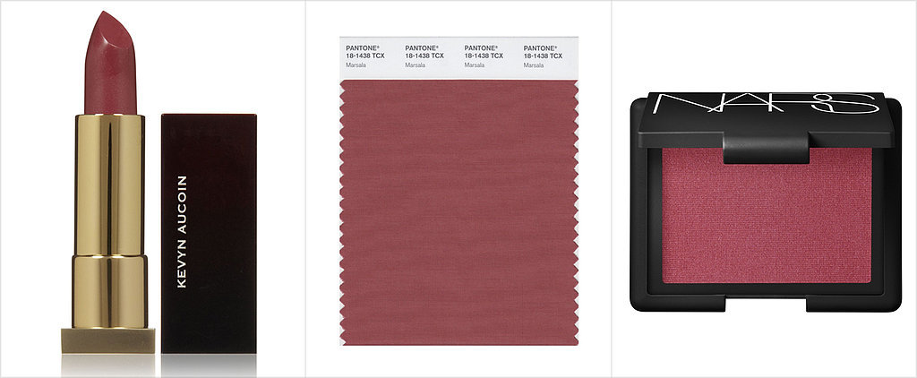 9 Pretty Ways to Wear Pantone's Color of the Year, Marsala