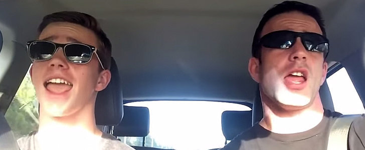 You Won't Guess Which Song This Father-Son Duo Lip-Syncs
