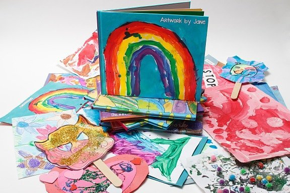 Transform Their Artwork Into a Bound Book