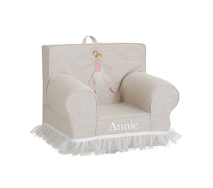 Pottery Barn Kids Ballerina Anywhere Chair