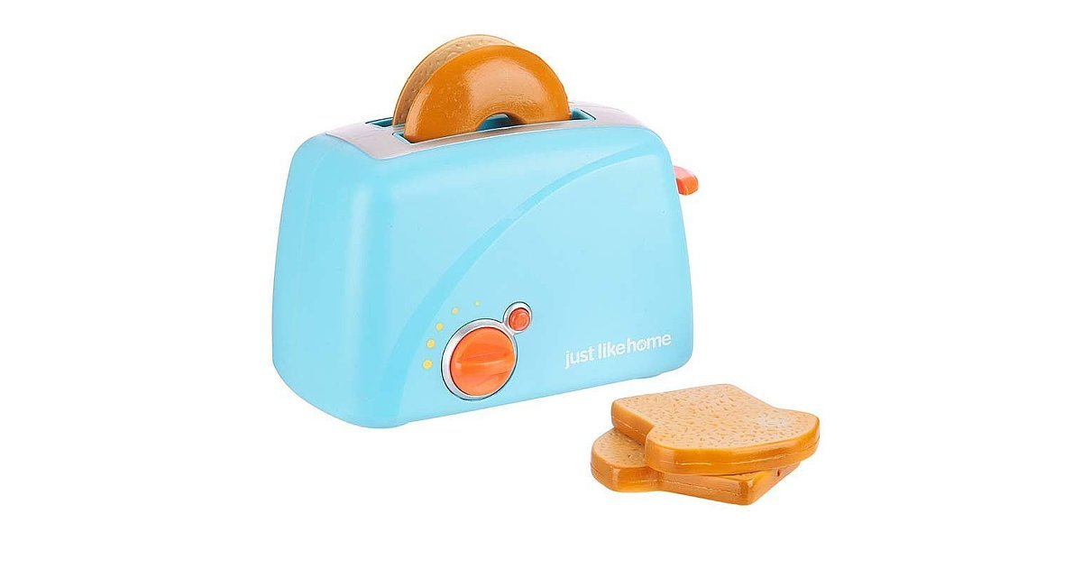 Just Like Home Toy Toaster : Just like home toy toaster set from car seats to snacks